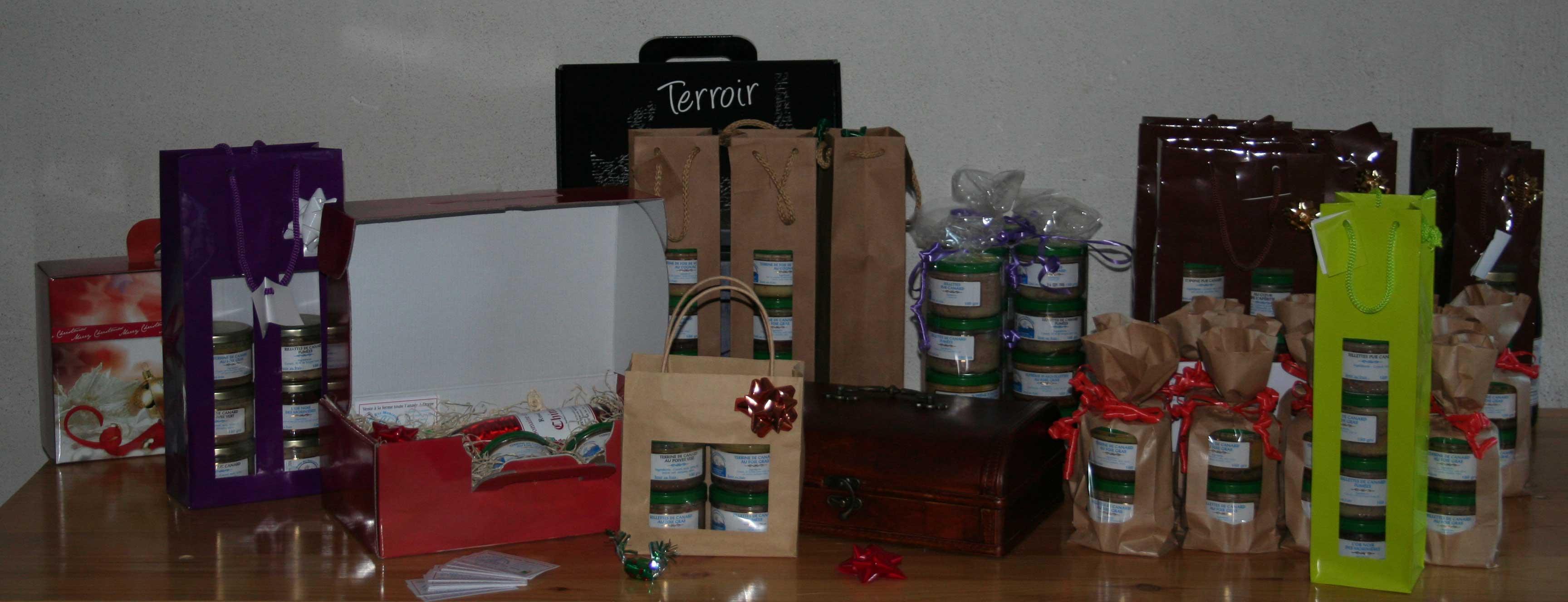 Coffrets Cadeaux pour Comité d'entreprise et Particulier